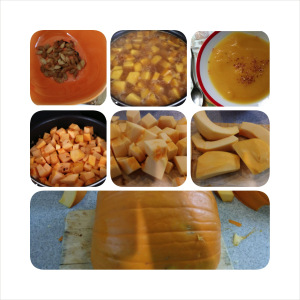 Pumpkin Cooking Project With Kids, Part 1