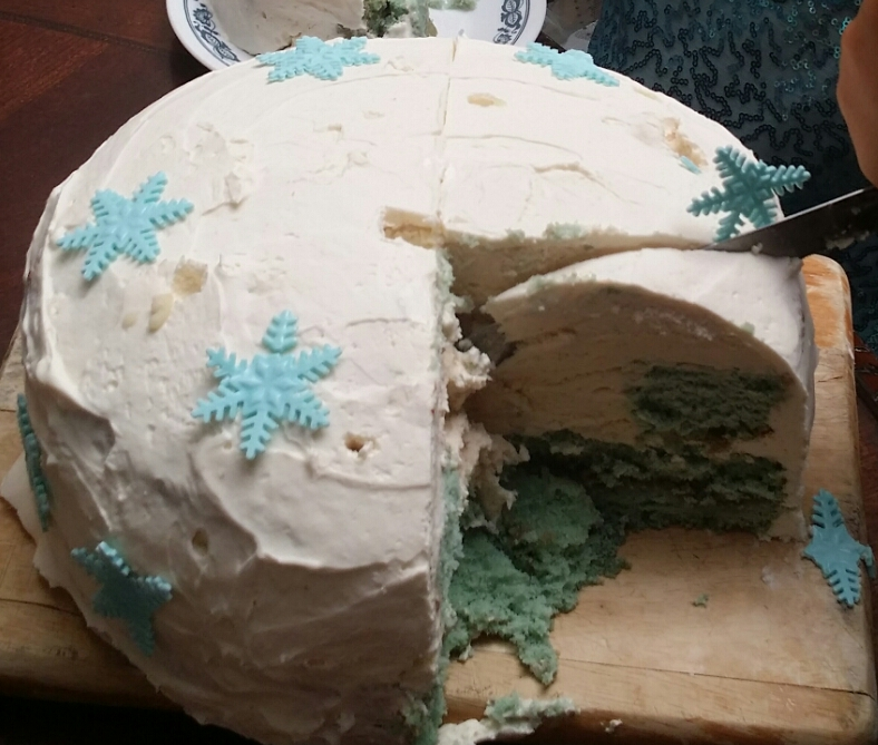 Frozen Ice Cream CakeTutorial
