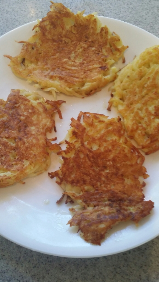 Easy Veggie Pancakes