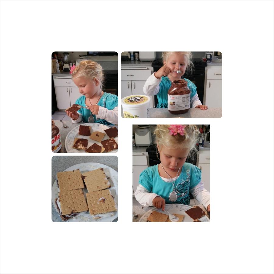 Easy cooking project for apreschooler
