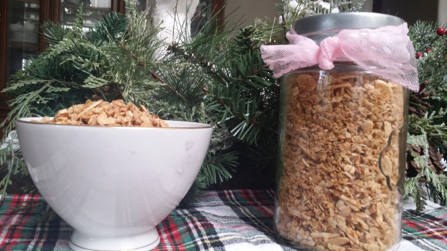Homemade Quick Oats Granola