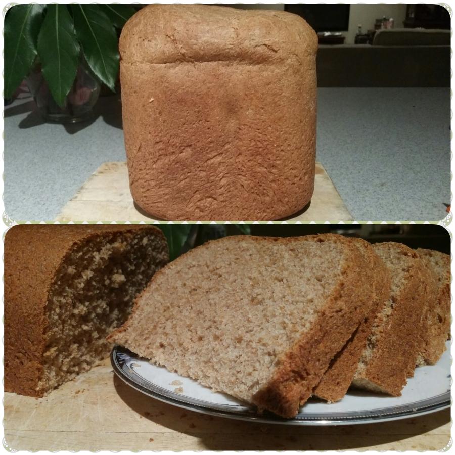 Whole Wheat Sandwich BreadRecipe