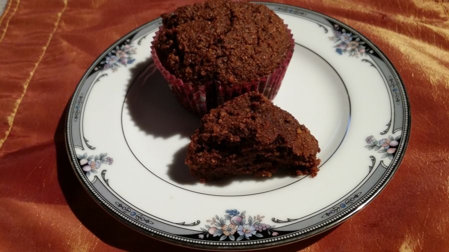 Gluten Free Diary Free Coconut Chocolate Muffins