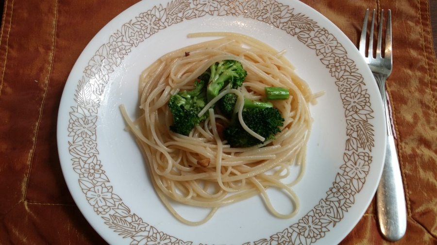 Garlic Broccoli Gluten Free Linguine